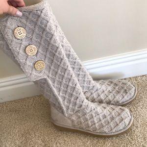 2e4c51310bb Women s Gray Ugg Sweater Boots on Poshmark